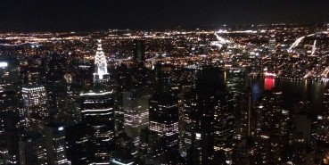 EMPIRE STATE: NYC from a height