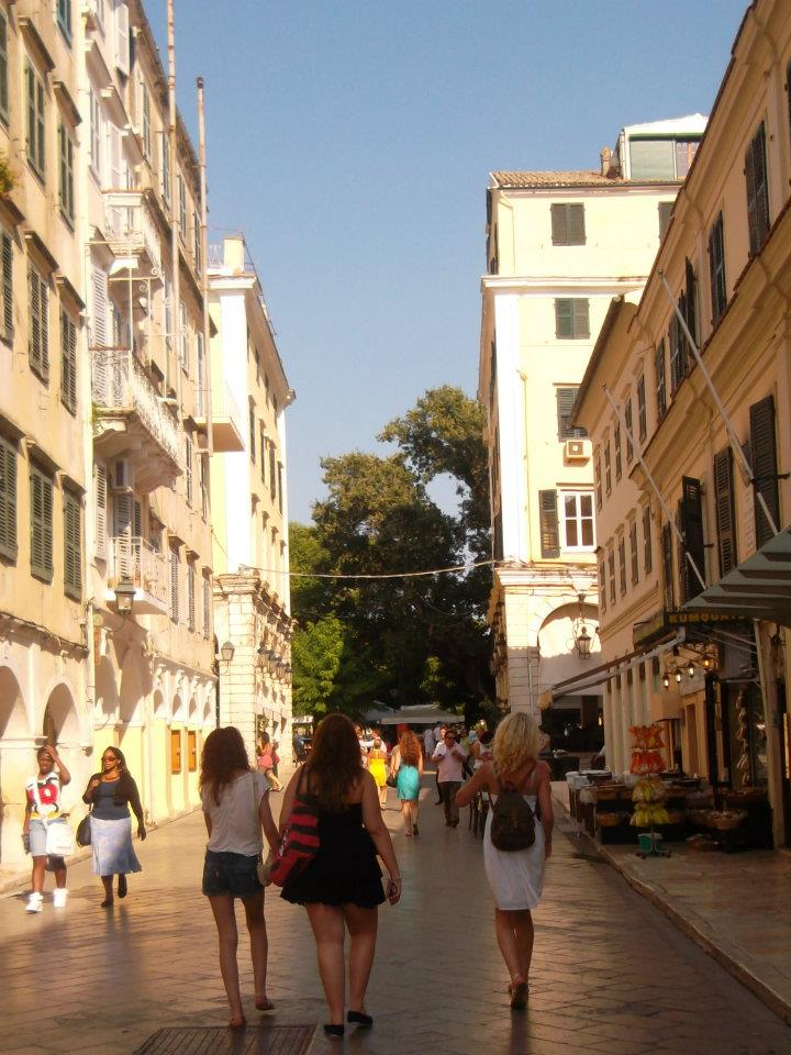 CORFU: City centre