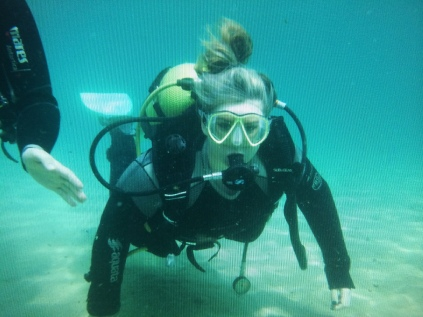 SCUBA DIVING: Something I never thought i'd do